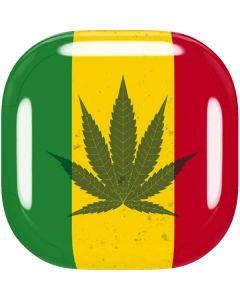 Marijuana Rasta Flag Galaxy Buds Live Skin