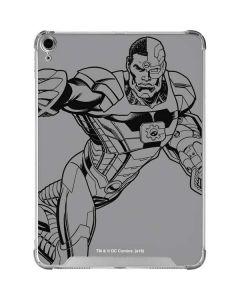 Cyborg Comic Pop iPad Air 10.9in (2020) Clear Case