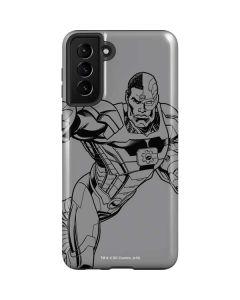 Cyborg Comic Pop Galaxy S21 Plus 5G Case