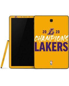 2020 Champions Lakers Samsung Galaxy Tab Skin