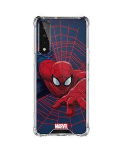Spider-Man Crawls LG Stylo 7 5G Clear Case