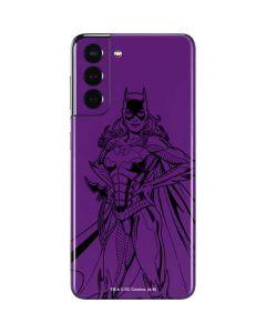 Batgirl Comic Pop Galaxy S21 5G Skin
