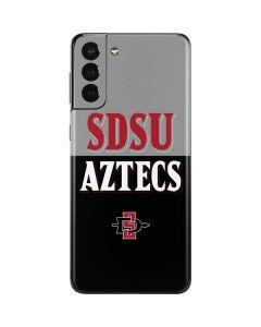 SDSU Aztecs Galaxy S21 Plus 5G Skin