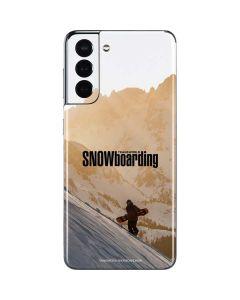 TransWorld SNOWboarding Sunset Galaxy S21 5G Skin