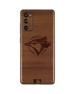 Toronto Blue Jays Engraved Galaxy S20 Fan Edition Skin