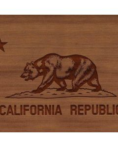 California Wood Flag Apple TV Skin