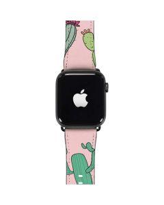 Cactus Print Apple Watch Band 42-44mm