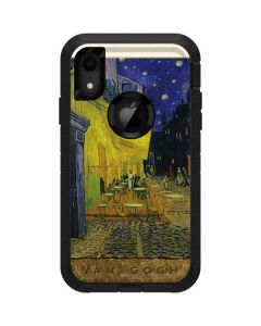 Cafe Terrace at Night Otterbox Defender iPhone Skin