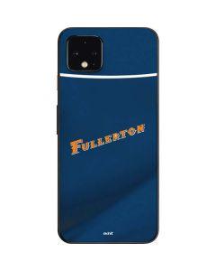 Cal State Fullerton Blue Jersey Google Pixel 4 Skin