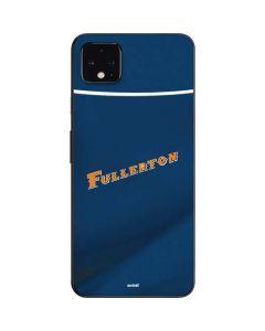 Cal State Fullerton Blue Jersey Google Pixel 4 XL Skin
