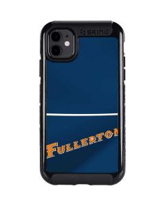 Cal State Fullerton Blue Jersey iPhone 11 Cargo Case