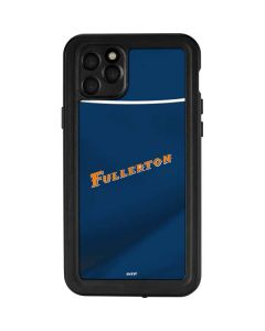 Cal State Fullerton Blue Jersey iPhone 11 Pro Max Waterproof Case