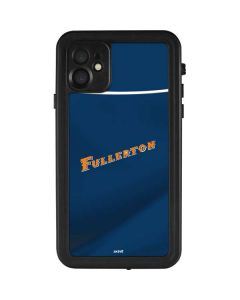 Cal State Fullerton Blue Jersey iPhone 11 Waterproof Case