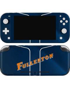 Cal State Fullerton Blue Jersey Nintendo Switch Lite Skin