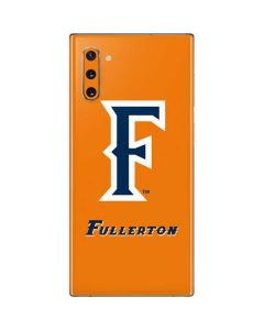 Cal State Fullerton Orange Galaxy Note 10 Skin