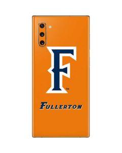 Cal State Fullerton Orange Galaxy Note 10 Skin