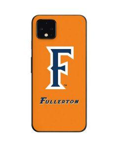 Cal State Fullerton Orange Google Pixel 4 Skin