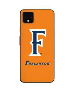 Cal State Fullerton Orange Google Pixel 4 XL Skin