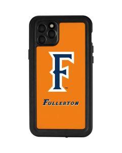 Cal State Fullerton Orange iPhone 11 Pro Max Waterproof Case