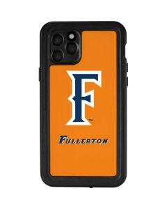 Cal State Fullerton Orange iPhone 11 Pro Waterproof Case