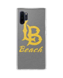 Cal State Long Beach Galaxy Note 10 Plus Clear Case