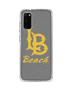 Cal State Long Beach Galaxy S20 Clear Case