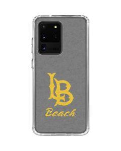 Cal State Long Beach Galaxy S20 Ultra 5G Clear Case