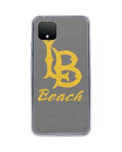 Cal State Long Beach Google Pixel 4 Clear Case