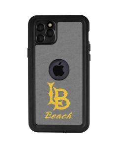 Cal State Long Beach iPhone 11 Pro Max Waterproof Case