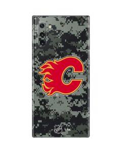 Calgary Flames Camo Galaxy Note 10 Skin