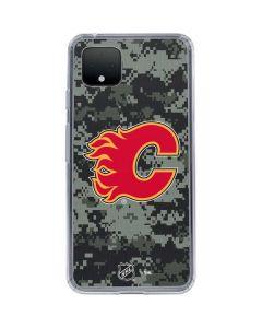 Calgary Flames Camo Google Pixel 4 XL Clear Case