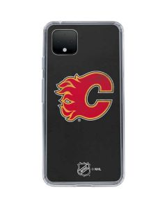 Calgary Flames Distressed Google Pixel 4 XL Clear Case