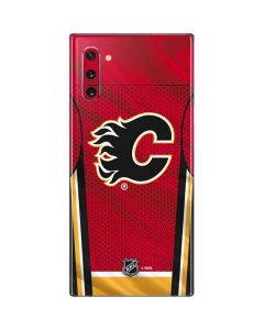 Calgary Flames Home Jersey Galaxy Note 10 Skin
