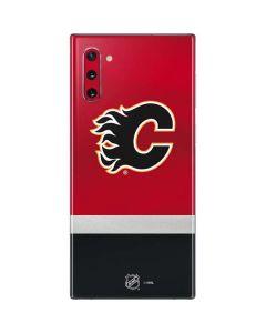 Calgary Flames Jersey Galaxy Note 10 Skin