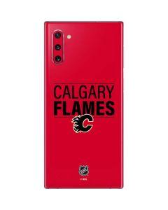 Calgary Flames Lineup Galaxy Note 10 Skin