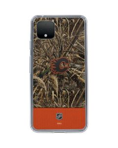 Calgary Flames Realtree Max-5 Camo Google Pixel 4 XL Clear Case