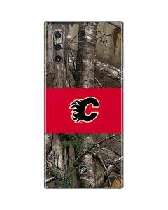 Calgary Flames Realtree Xtra Camo Galaxy Note 10 Skin