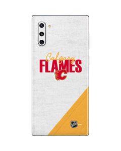 Calgary Flames Script Galaxy Note 10 Skin