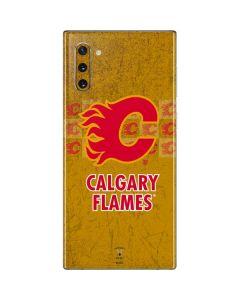 Calgary Flames Vintage Galaxy Note 10 Skin