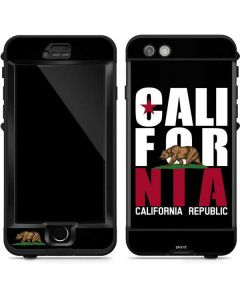 California Black Block LifeProof Nuud iPhone Skin