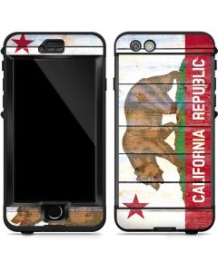 California Flag Light Wood LifeProof Nuud iPhone Skin