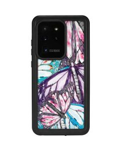 California Monarch Collage Galaxy S20 Ultra 5G Waterproof Case