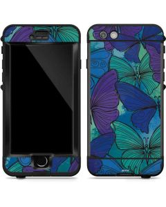 California Watercolor Butterflies LifeProof Nuud iPhone Skin