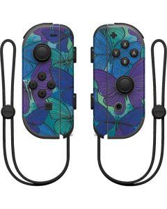 California Watercolor Butterflies Nintendo Joy-Con (L/R) Controller Skin