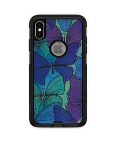 California Watercolor Butterflies Otterbox Commuter iPhone Skin