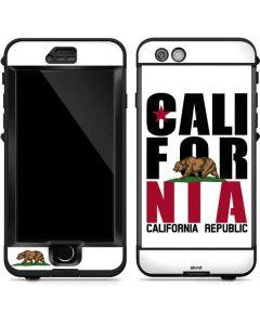 California White Block LifeProof Nuud iPhone Skin