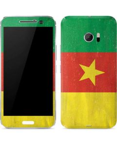 Cameroon Flag Distressed 10 Skin