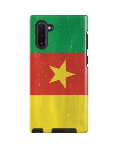 Cameroon Flag Distressed Galaxy Note 10 Pro Case