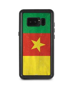 Cameroon Flag Distressed Galaxy Note 8 Waterproof Case