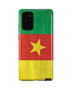Cameroon Flag Distressed Galaxy Note20 5G Pro Case